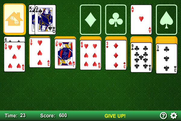 Click to view Klondike Solitaire screenshots