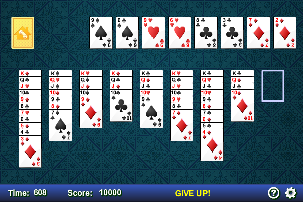 Double Klondike Solitaire full screenshot