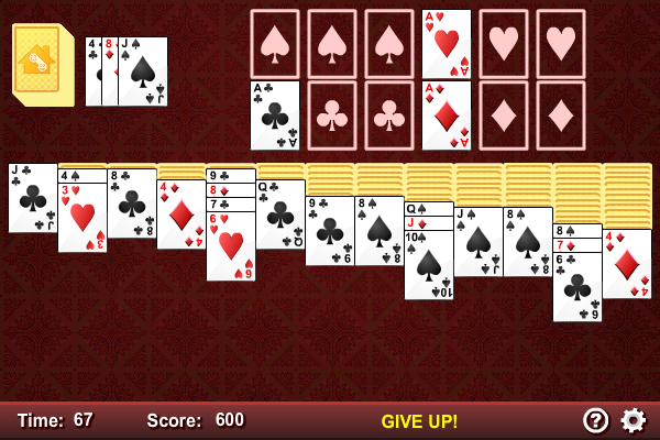 Click to view Triple Klondike Solitaire screenshots