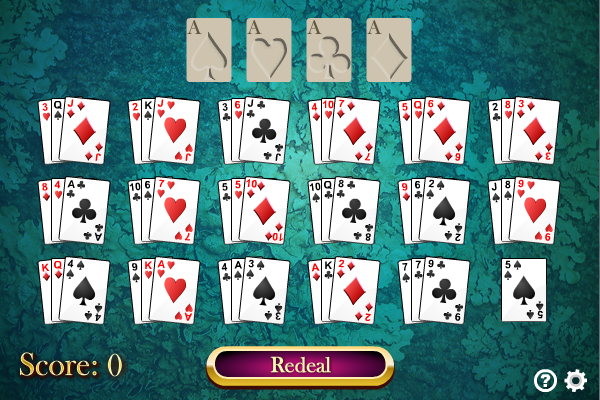 La Belle Lucie Solitaire full screenshot