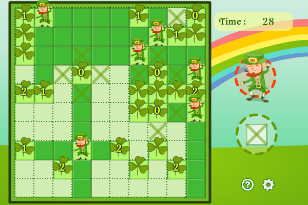 Click to view Green Leprechauns 1.0.1 screenshot