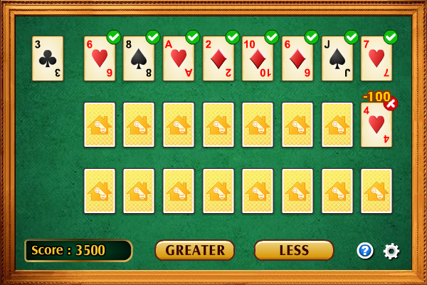 Click to view Lucky Card 1.1.0 screenshot