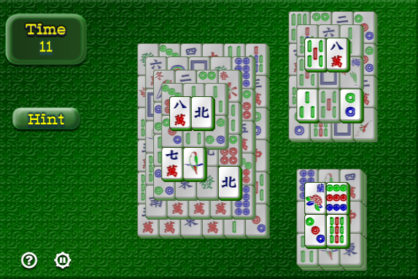 Mahjongg II freeware screenshot
