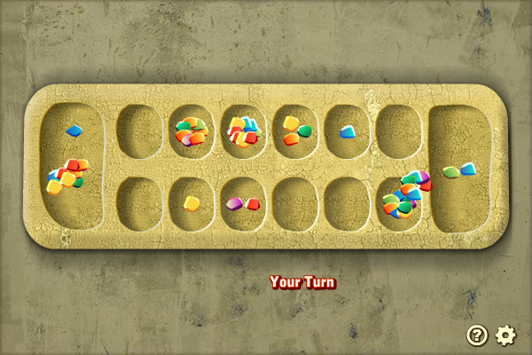 Multiplayer Mancala screenshot