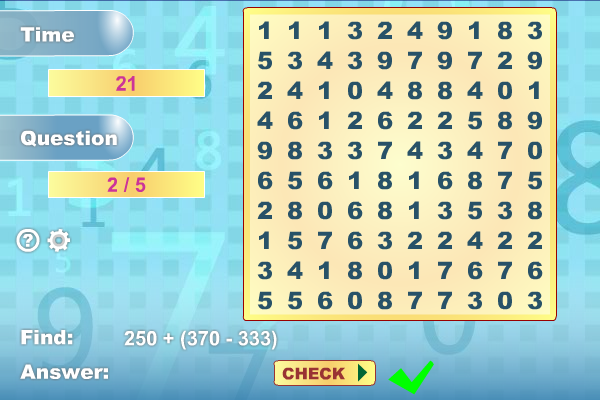 Math Search screenshot