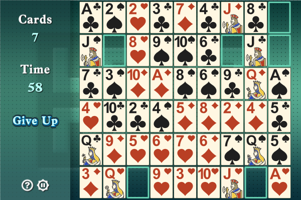 Click to view Maze Solitaire screenshots