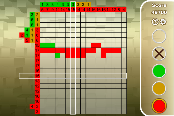 Screenshot of Nonogram