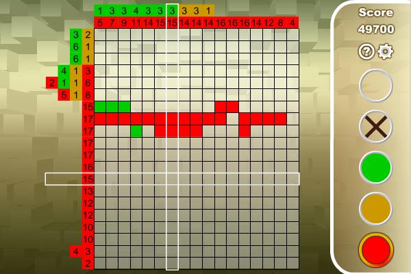 Nonogram screenshot