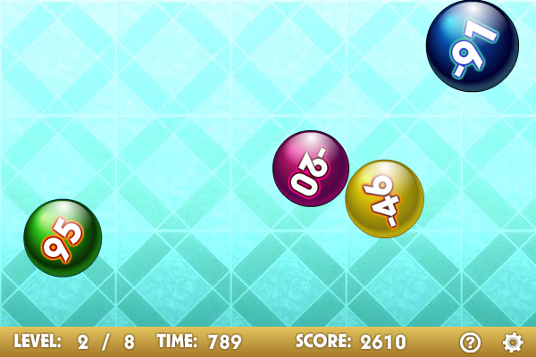 Number Balls screenshot