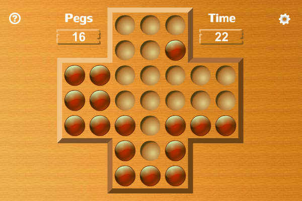 Peg Solitaire screenshot
