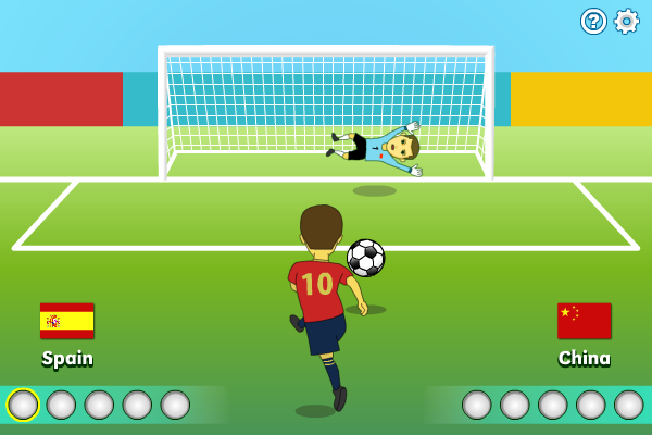 Click to view Penalty Shootout 1.0.0 screenshot