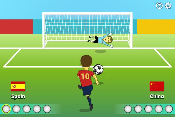 Multiplayer Penalty Shootout screenshot