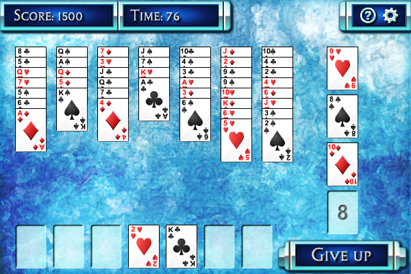 Penguin Solitaire full screenshot