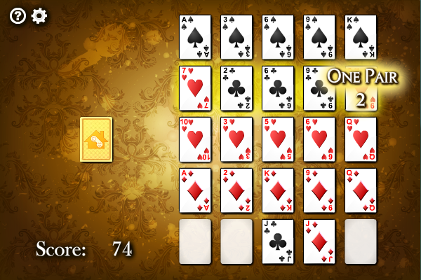 Click to view Poker Square screenshots