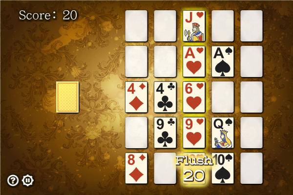 Poker Square full screenshot