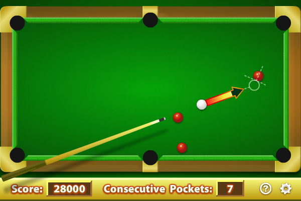 Click to view Pool Practice 1.3.0 screenshot