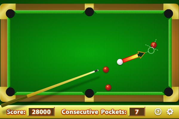 Pool Practice full screenshot