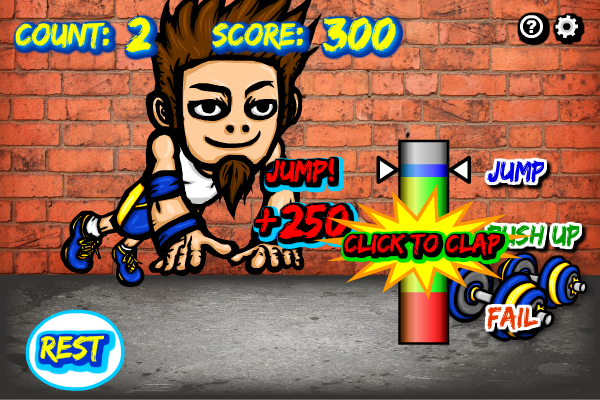 Push Up Tricks full screenshot