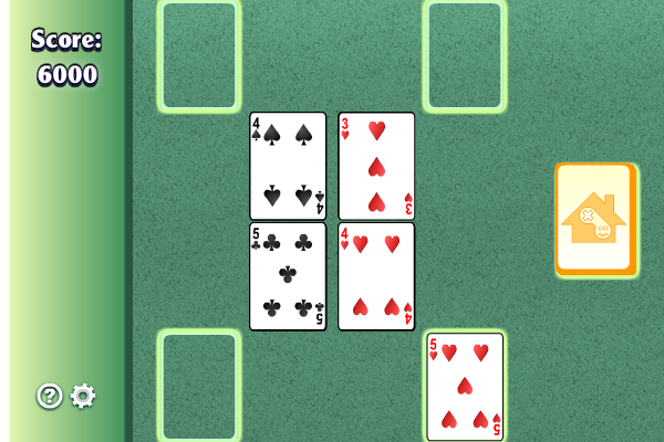 Puss in the Corner Solitaire Screen shot