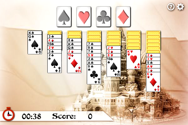 Click to view Russian Solitaire screenshots