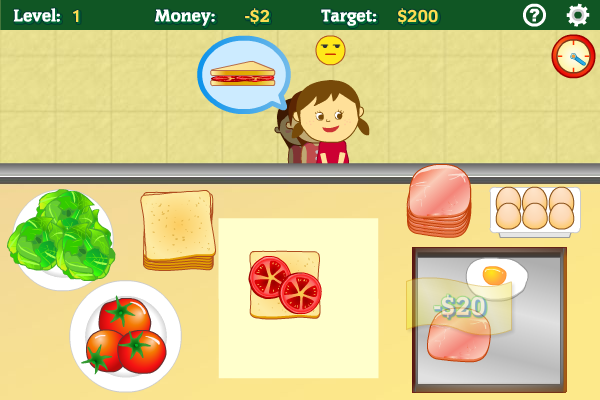 Click to view Sandwich Shop screenshots