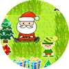 Im Garten des Weihnachtsmanns