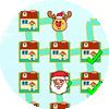 Der Weg des Weihnachtsmanns
