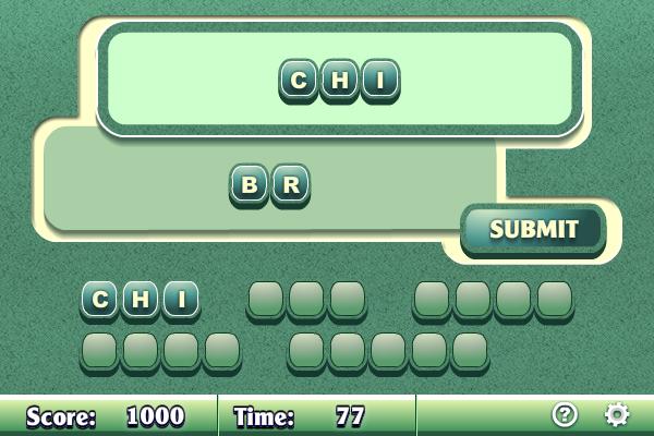Word Scramble II screenshot