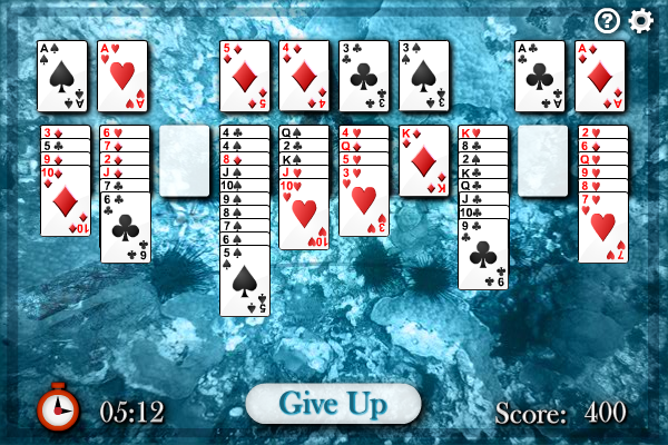 Click to view Sea Towers Solitaire screenshots