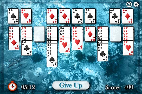 Sea Towers Solitaire full screenshot