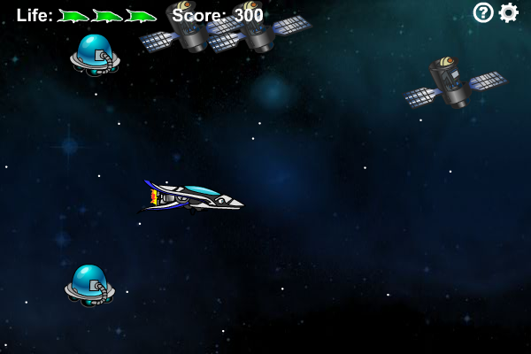 Screenshot of Space Shoot
