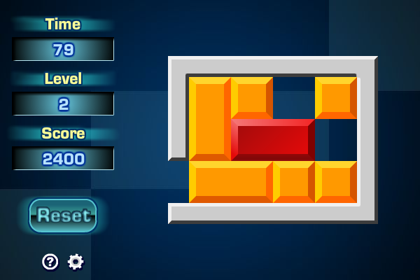 Sliding Block Puzzle screenshot