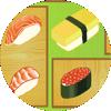 Pares de Sushi