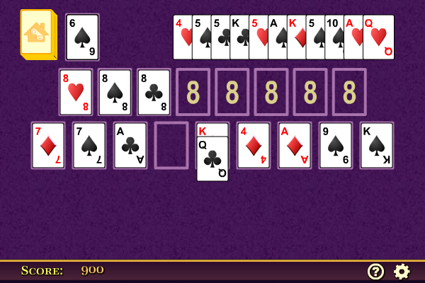 Click to view Terrace Solitaire screenshots