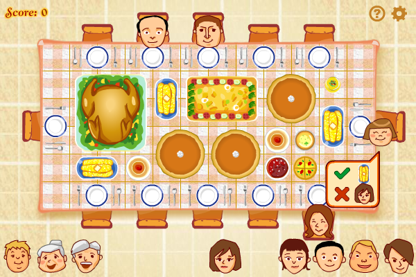 Click to view Thanksgiving Dinner screenshots