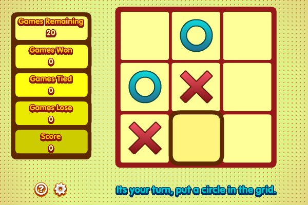 Multiplayer Tic Tac Toe screenshot