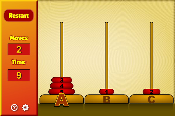 Click to view Tower of Hanoi screenshots