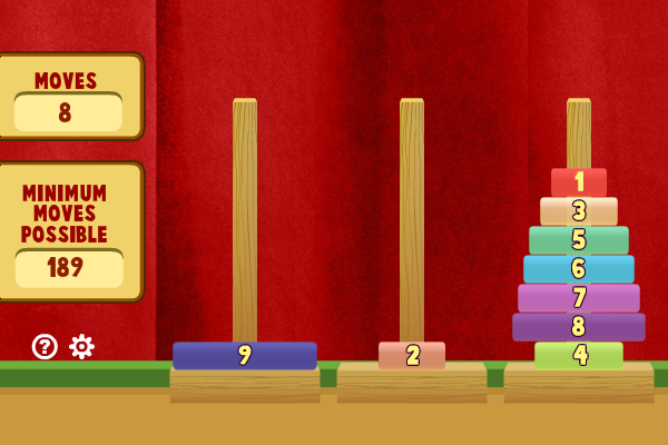 Click to view Tower of Hanoi II screenshots