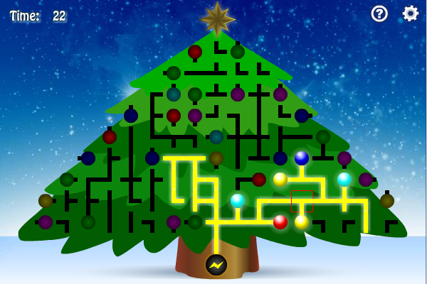 Screenshot of Christmas Tree Light Up