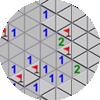 3각형 지뢰찾기
