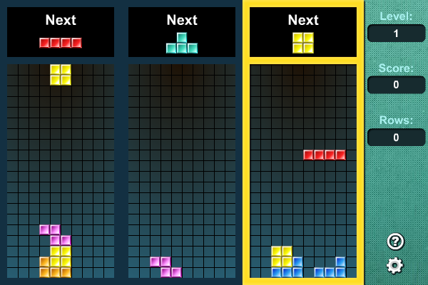 Tritris screenshot
