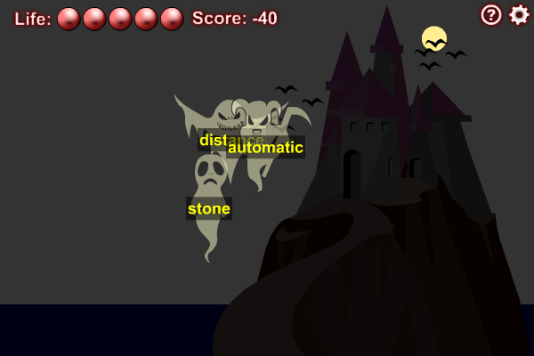 The Typing of the Ghosts screenshot