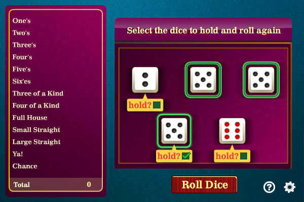 Click to view Ya! Dice screenshots