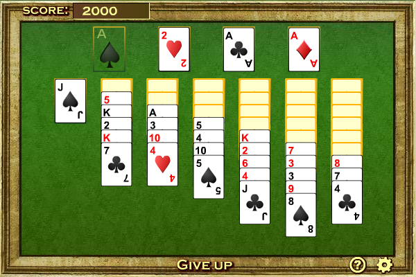 Click to view Yukon Solitaire screenshots