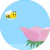 L'abeille assidue