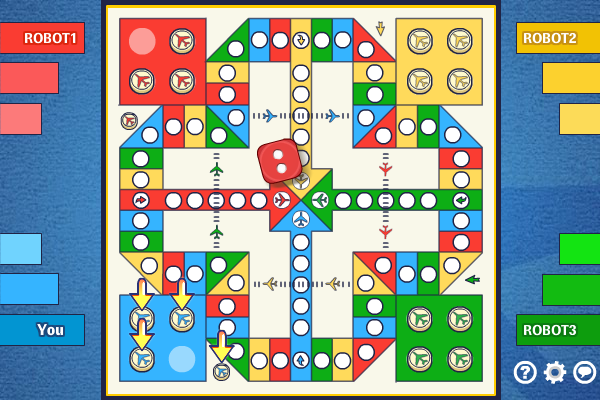 Multiplayer Aeroplane Race full screenshot