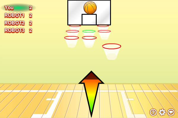 Click to view Multiplayer Basketball Shootout screenshots