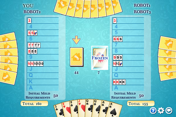Click to view Multiplayer Canasta screenshots