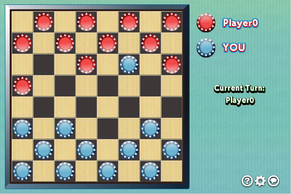 Click to view Multiplayer Checkers screenshots