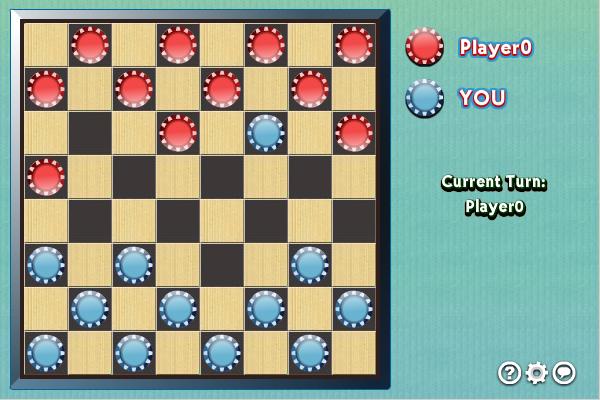 Multiplayer Checkers screenshot